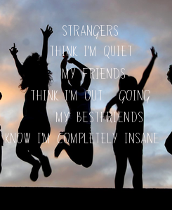 Poster:          STRANGERS