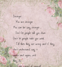 Poster: Stronger: