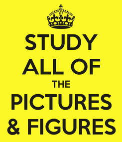 Poster: STUDY ALL OF THE PICTURES & FIGURES