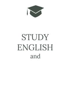 Poster: STUDY ENGLISH and