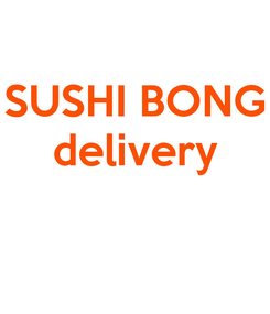 Poster: SUSHI BONG delivery