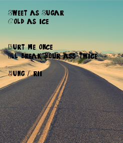 Poster: Sweet as Sugar 