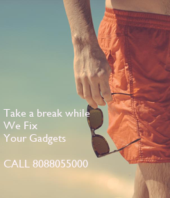 Poster: Take a break while