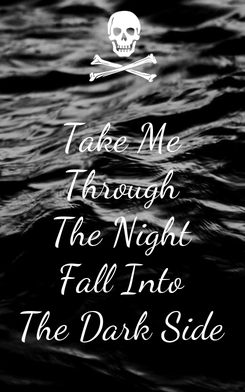 Poster: Take Me Through The Night Fall Into The Dark Side