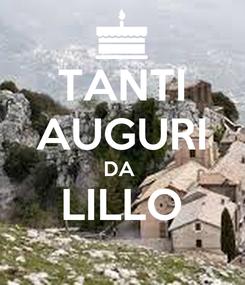 Poster: TANTI AUGURI DA  LILLO