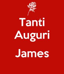 Poster: Tanti Auguri  James