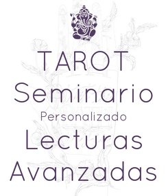 Poster: TAROT Seminario Personalizado Lecturas Avanzadas