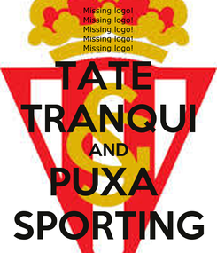 Poster: TATE  TRANQUI AND PUXA  SPORTING