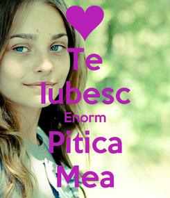 Poster: Te Iubesc Enorm Pitica Mea