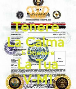 Poster: Tenere  La Calma  E Ottenere La Tua V-M1