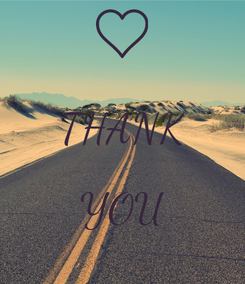 Poster:  THANK  YOU