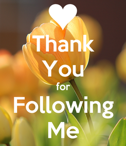 Poster: Thank You for Following Me