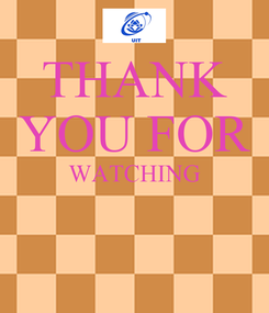 Poster: THANK YOU FOR WATCHING