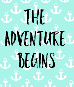 Poster: The  Adventure  Begins