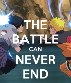 Poster: THE BATTLE CAN NEVER END