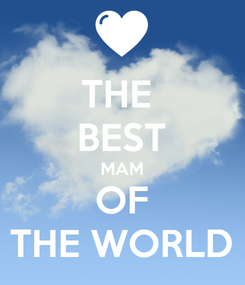 Poster: THE  BEST MAM OF THE WORLD
