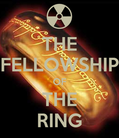 Poster: THE FELLOWSHIP OF THE RING