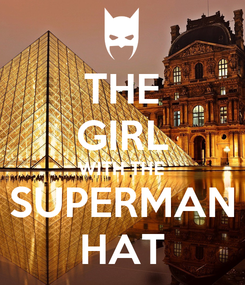 Poster: THE GIRL WITH THE SUPERMAN HAT