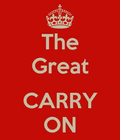 Poster: The Great  CARRY ON