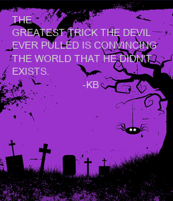 Poster: THE 