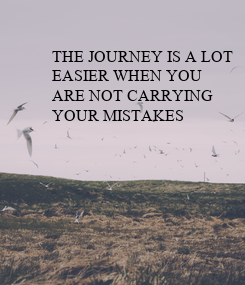 Poster: THE JOURNEY IS A LOT