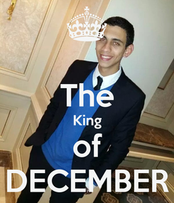 Poster:  The King of DECEMBER