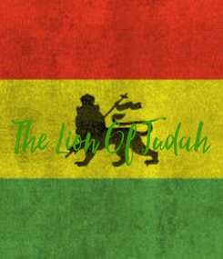 Poster:  The Lion Of Judah