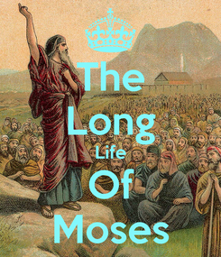 Poster: The Long Life Of Moses