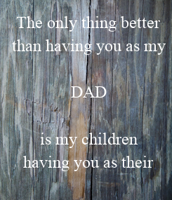 Poster: The only thing better
