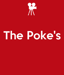 Poster:  The Poke's