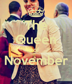 Poster: The Queen of November