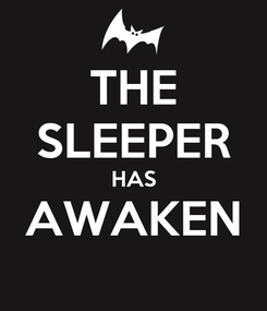 Poster: THE SLEEPER HAS AWAKEN