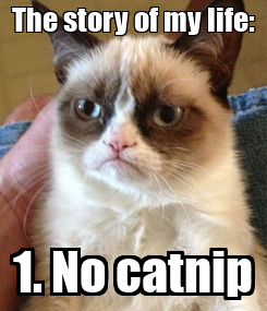 Poster: The story of my life: 1. No catnip