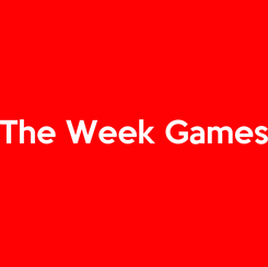 Poster:  The Week Games