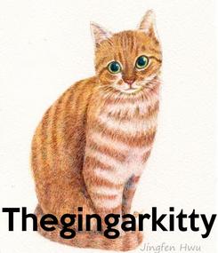 Poster:     Thegingarkitty