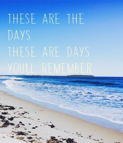 Poster: These are the