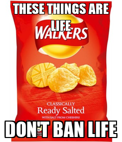 Poster: THESE THINGS ARE LIFE DON'T BAN LIFE