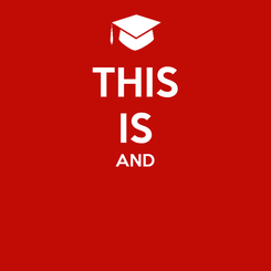 Poster: THIS IS AND