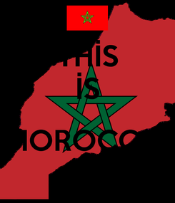 Poster: THİS İS  MOROCCO!
