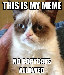 Poster: THIS IS MY MEME NO COPYCATS ALLOWED
