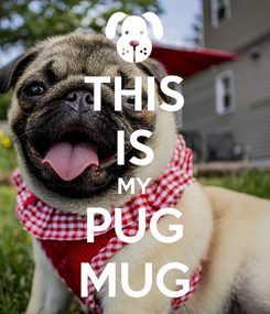 Poster: THIS IS MY PUG MUG