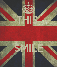 Poster: THIS    SMILE