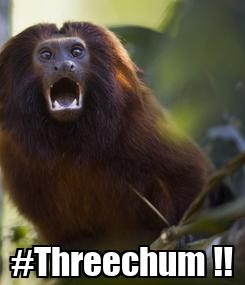 Poster:  #Threechum !!