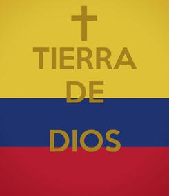 Poster: TIERRA DE  DIOS
