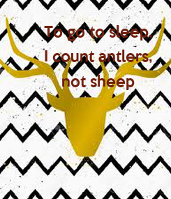Poster: To go to sleep,