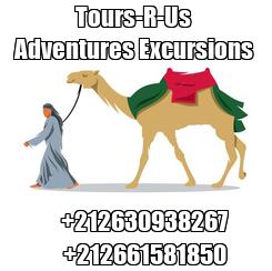Poster:       Tours-R-Us         Adventures Excursions         +212630938267