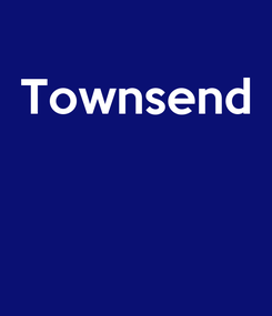 Poster: Townsend