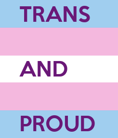 Poster: TRANS   AND  PROUD