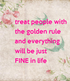 Poster: treat people with