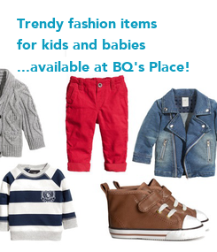 Poster: Trendy fashion items 